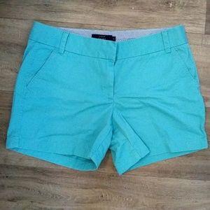 J.crew Chino cotton shorts